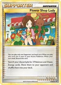 Flower Shop Lady, Pokemon, Undaunted