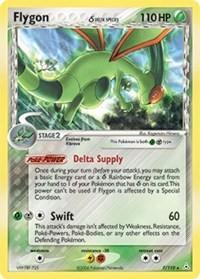 Flygon (Delta Species), Pokemon, Holon Phantoms