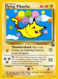 Flying Pikachu, Pokemon, WoTC Promo