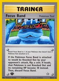 Focus Band, Pokemon, Neo Genesis