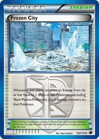 Frozen City (Team Plasma), Pokemon, Plasma Freeze