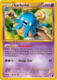 Garbodor (119 Secret Rare), Pokemon, Plasma Freeze