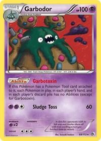 Garbodor, Pokemon, Legendary Treasures
