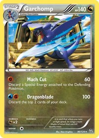 Garchomp (90), Pokemon, Dragons Exalted