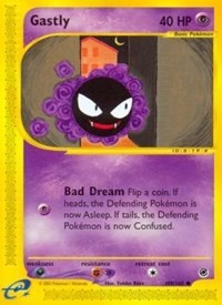 Gastly, Pokemon, Expedition