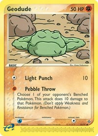 Geodude (55), Pokemon, Dragon
