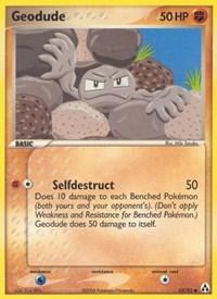 Geodude, Pokemon, Legend Maker