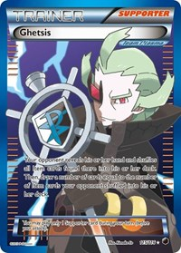 Ghetsis (Team Plasma) (Full Art), Pokemon, Plasma Freeze