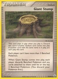 Giant Stump, Pokemon, Legend Maker