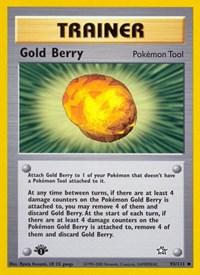 Gold Berry, Pokemon, Neo Genesis