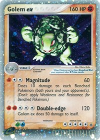 Golem ex, Pokemon, Dragon