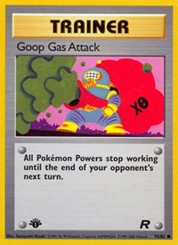 Goop Gas Attack, Pokemon, Team Rocket