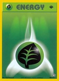Grass Energy, Pokemon, Neo Genesis