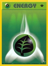 Grass Energy, Pokemon, Gym Heroes