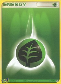 Grass Energy, Pokemon, Ruby and Sapphire