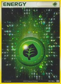 Grass Energy, Pokemon, Emerald