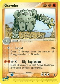 Graveler (29), Pokemon, Dragon