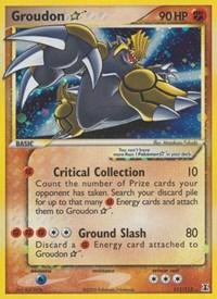 Groudon Star, Pokemon, Delta Species