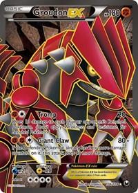 Groudon EX (106 Full Art), Pokemon, Dark Explorers