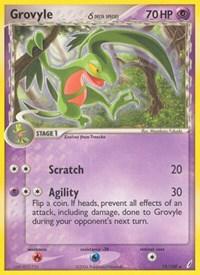 Grovyle (Delta Species), Pokemon, Crystal Guardians