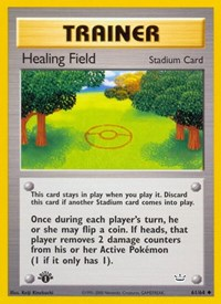 Healing Field, Pokemon, Neo Revelation