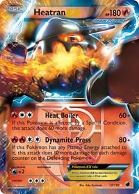 Heatran EX (Team Plasma), Pokemon, Plasma Freeze