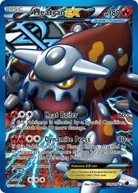 Heatran EX (Team Plasma) (Full Art), Pokemon, Plasma Freeze