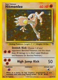 Hitmonlee, Pokemon, Legendary Collection