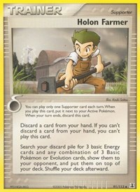 Holon Farmer, Pokemon, Delta Species