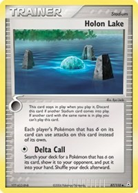 Holon Lake, Pokemon, Holon Phantoms