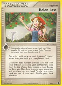 Holon Lass, Pokemon, Delta Species