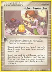 Holon Researcher, Pokemon, Delta Species