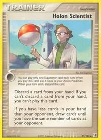 Holon Scientist, Pokemon, Delta Species