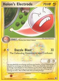 Holon's Electrode, Pokemon, Delta Species