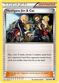 Hooligans Jim & Cas, Pokemon, Dark Explorers