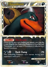 Houndoom (Prime), Pokemon, Undaunted