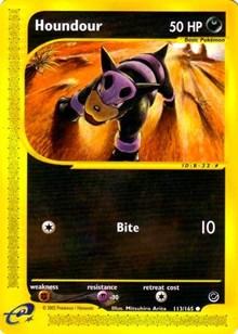 Houndour, Pokemon, Expedition
