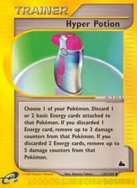 Hyper Potion, Pokemon, Skyridge