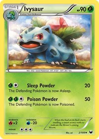Ivysaur, Pokemon, Dark Explorers