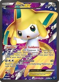 Jirachi EX (98 Full Art), Pokemon, Plasma Blast