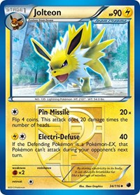 Jolteon (Team Plasma), Pokemon, Plasma Freeze