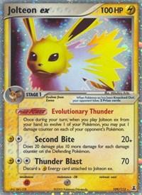 Jolteon ex, Pokemon, Delta Species