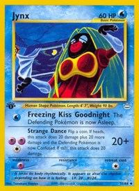 Jynx, Pokemon, Neo Revelation