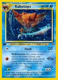 Kabutops (6), Pokemon, Neo Discovery