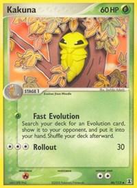 Kakuna, Pokemon, Delta Species