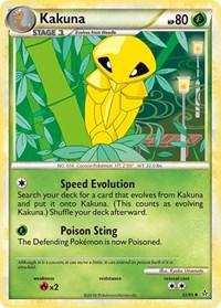 Kakuna, Pokemon, Unleashed