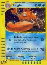 Kingler (15), Pokemon, Expedition