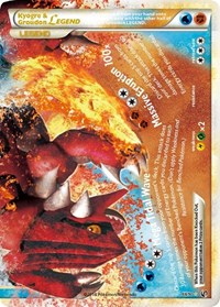 Kyogre & Groudon Legend (Bottom), Pokemon, Undaunted