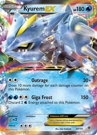 Kyurem EX, Pokemon, Plasma Blast