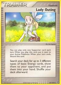 Lady Outing, Pokemon, Deoxys